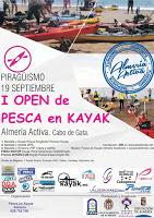 Crónica del I Open de Pesca en Kayak. Costa de Almería.