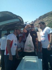 Insuperable comienzo en el I Social del C.D. Vivo Kayak Almería