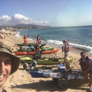 """""""A la deriva en Badalona"""": Crónica del IX Campeonato de España de pesca en kayak"""