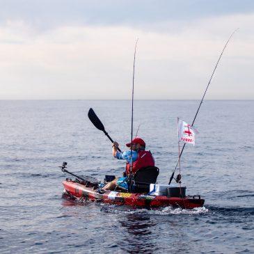 Villaricos acoge la sexta edición del Open de Pesca en Kayak Almería Activa